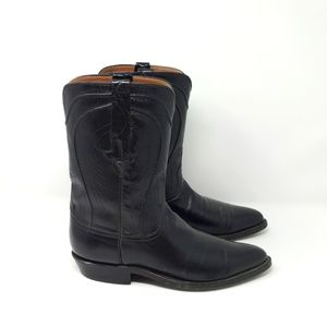 Lucchese Men's Cowboy Western Boots Black 8.5 D